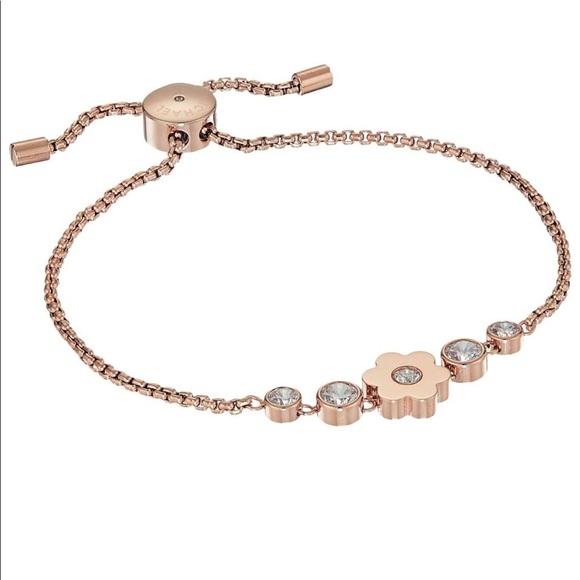 827a20298 Michael Kors Jewelry   Rose Gold Flower Power Bracelet   Poshmark